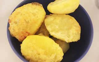 Картошка с чесночным маслом и сыром – рецепт пошаговый с фото